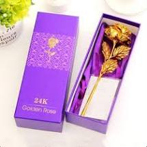Valentine's Day Gifts - Gold Rose