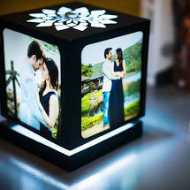 Valentine's Day Gifts - Rotating Photo Lamp