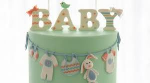 Baby Shower Cake Ideas- Baby