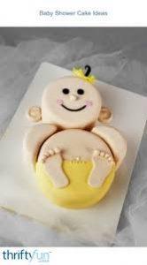 Baby Shower Cake Ideas- Cute Baby