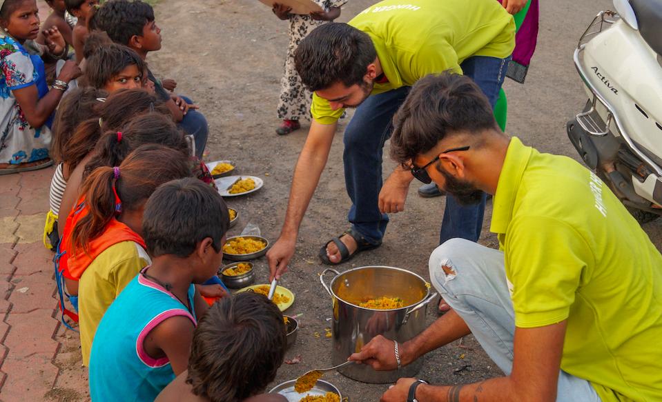 Feeding India Donate Food