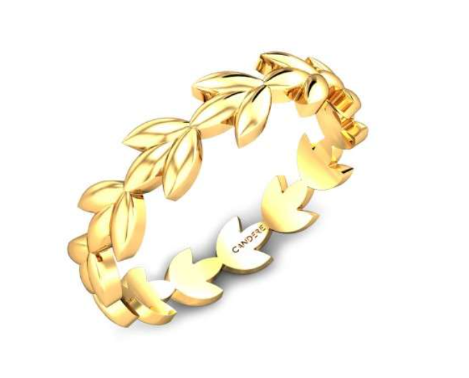 Leaves Cut Out ring