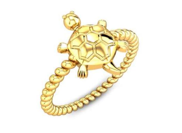 Tortoise Shaped Ring