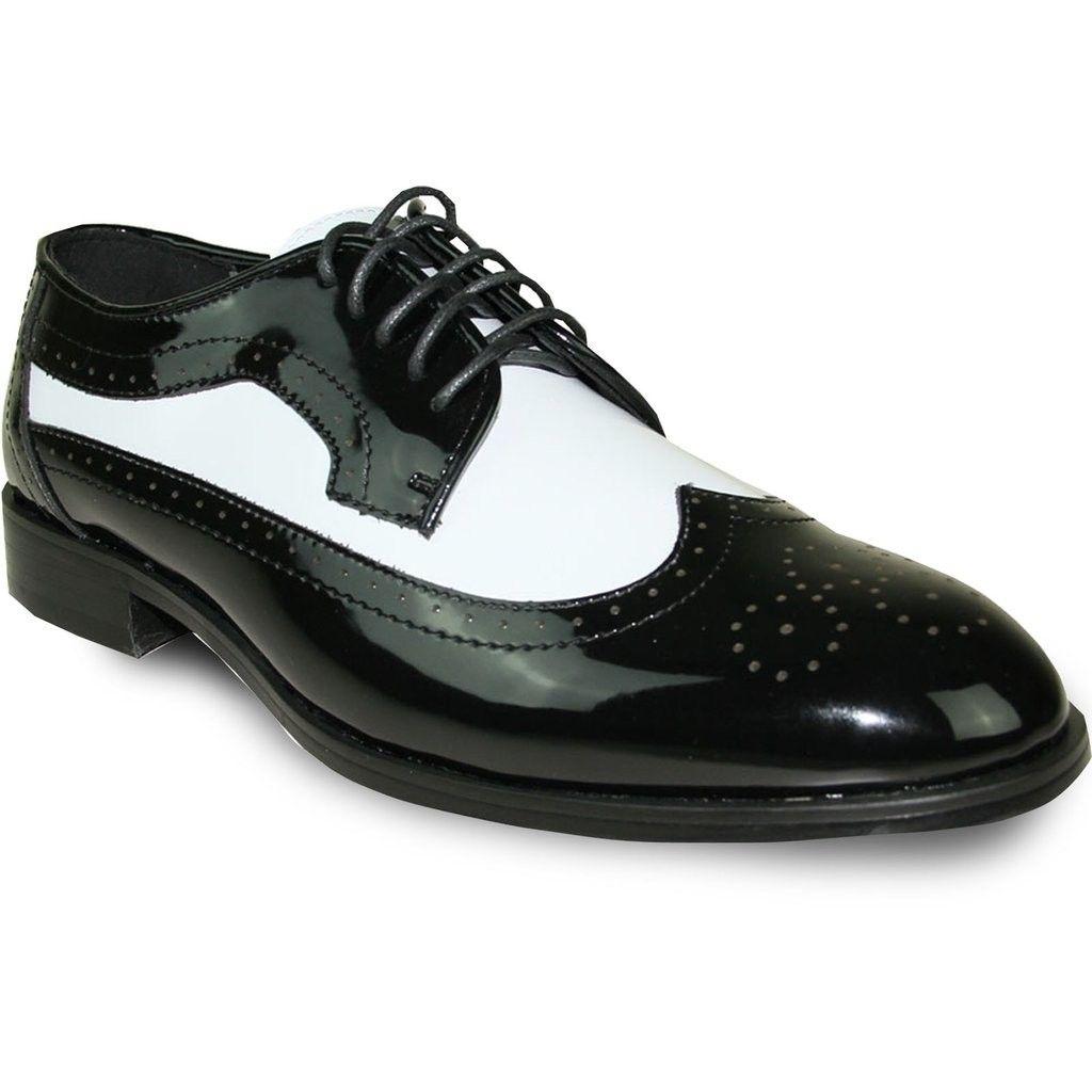 Black and White Tuxedo Shoes