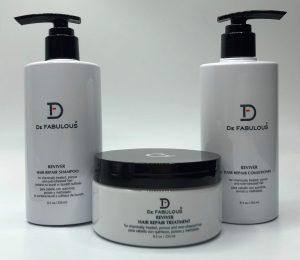 De Fabulous Reviver shampoo and conditioner