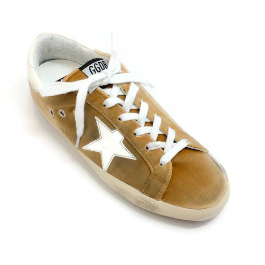 Golden Goose Velvet Sneakers