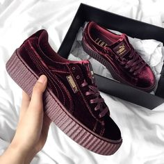 Puma Velvet Shoes