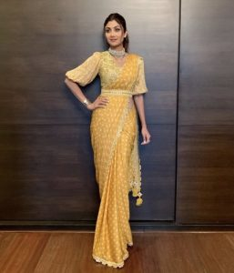 Shilpa Shetty Belted Look