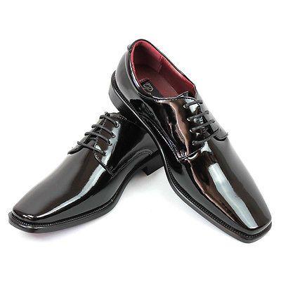 Shiny Tuxedo Shoes