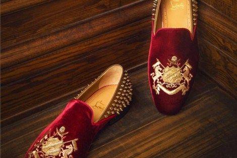 Stylish Velvet Shoes Men