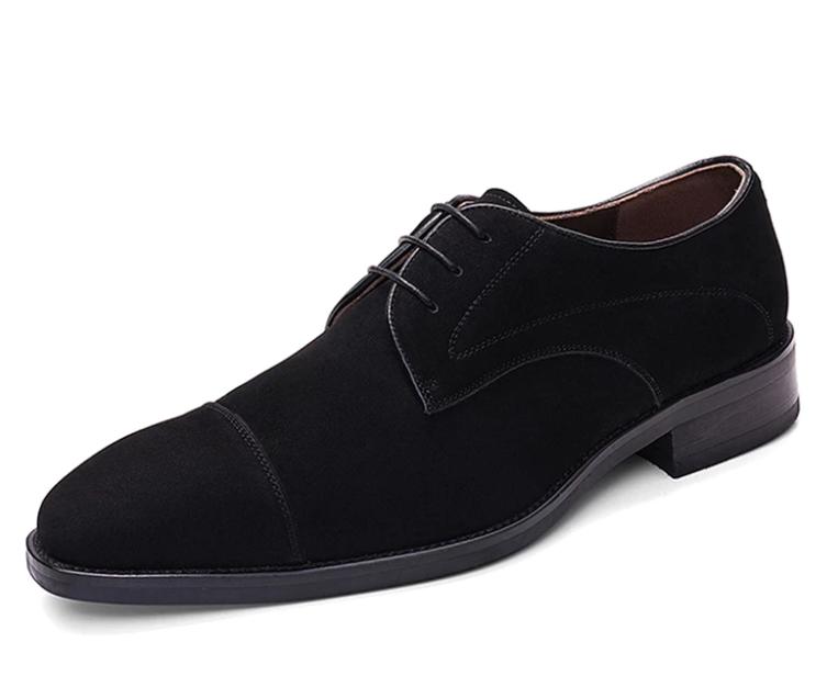 Suede Tuxedo Shoes