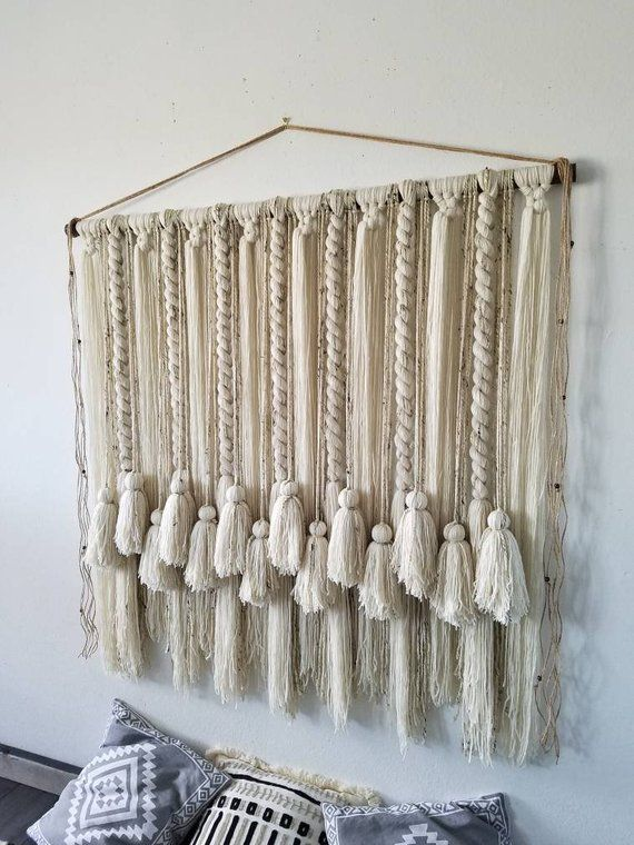 Tapestry Tassel Decoration Ideas