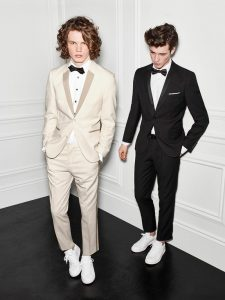 Tuxedo with Sneakers