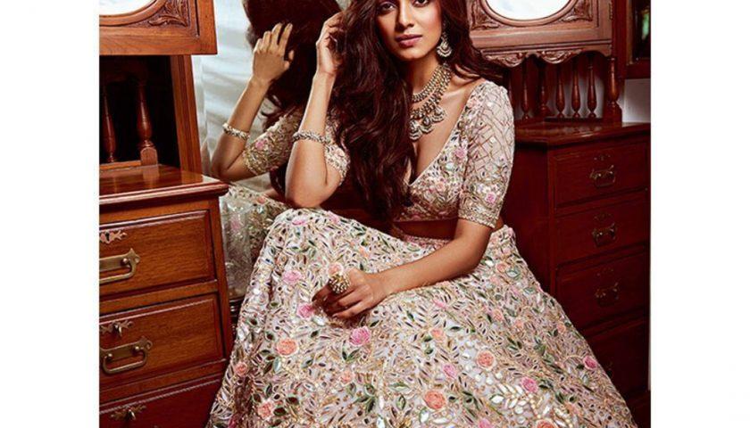 sangeet bridal look