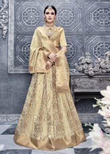 Golden Banarasi Lehenga