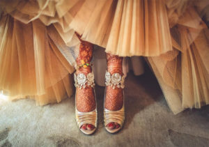 Gorgeous Bridal Payal Design