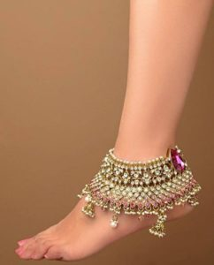 Heavy Payal for Bride