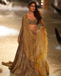 Kareena Kapoor Gold Lehenga