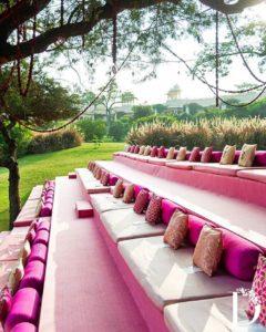Lawn Seating Arrangement