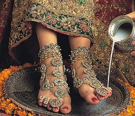 Modern Payal Design Bridal