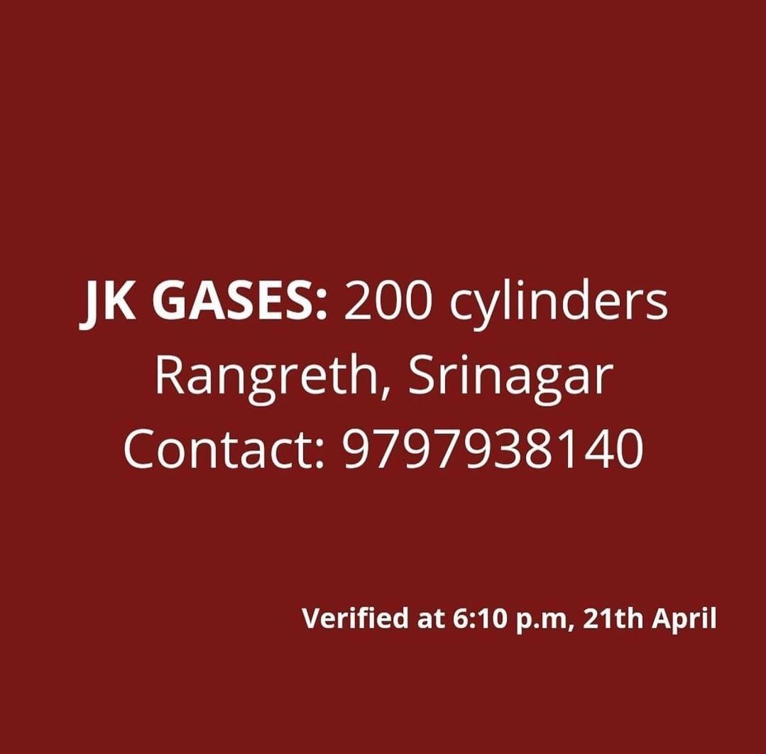 Oxygen Cylinder Resources