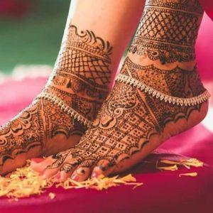 Payal Design Silver for Bride
