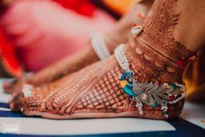 Peacock Bridal Payal Design