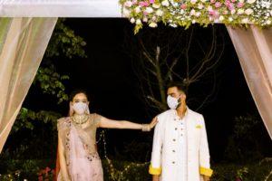Reception at Intimate Wedding