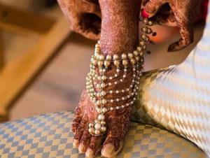 Trendy Wedding Payal Design