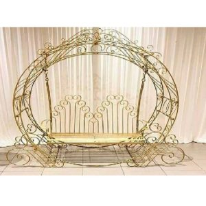 Unique Bride and Groom Seating
