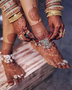 Wedding Anklets Designs