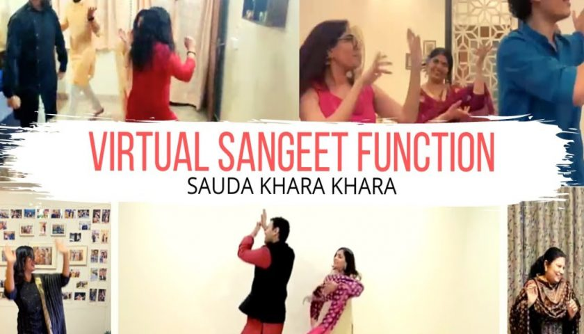 virtual sangeet ideas
