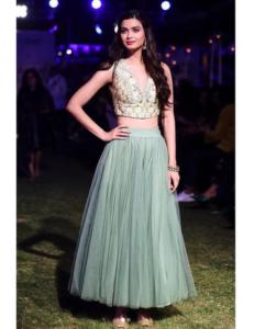Adhira Crop-Top and Skirt Set