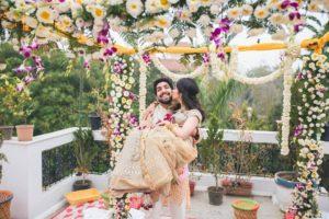 Decor at Private Wedding Ceremony