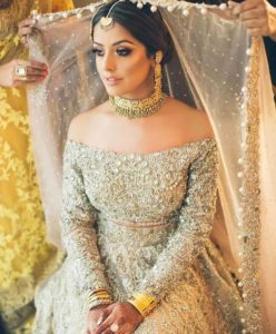 Lehenga Off Shoulder Full Sleeve Top