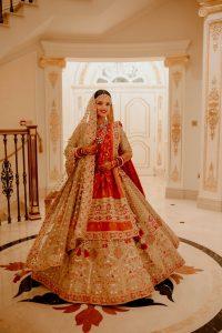 Royal Red Bridal Lehenga