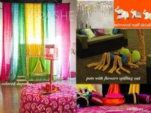 Virtual Mehendi DIY Decoration Ideas