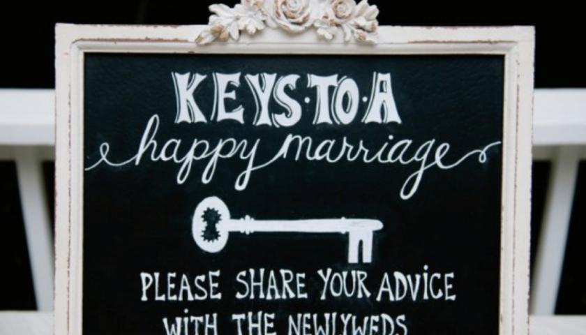 Wedding Chalkboard Feature imafe