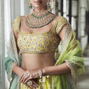 Indian Bride Square Neck Full Sleeve Top