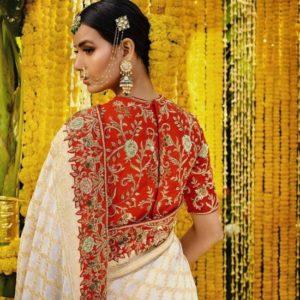 wedding Maggam work blouse designs