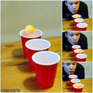 Ping Pong Cup Game