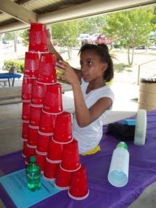 'Stack Attack' Plastic Cup Party Games