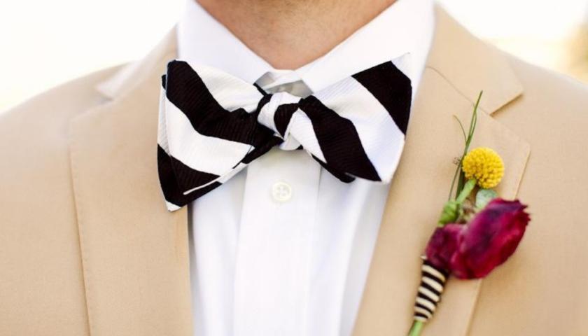 Wedding Bow Tie Ideas