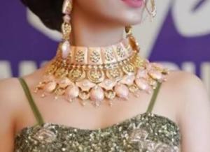 Bridal Choker Necklace