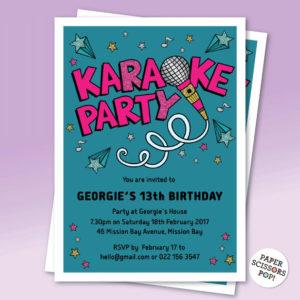 karaoke theme party ideas