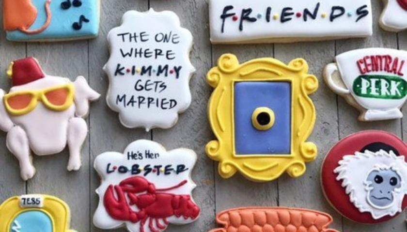 friends themed wedding ideas