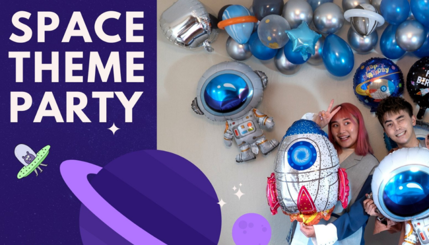 space themed party