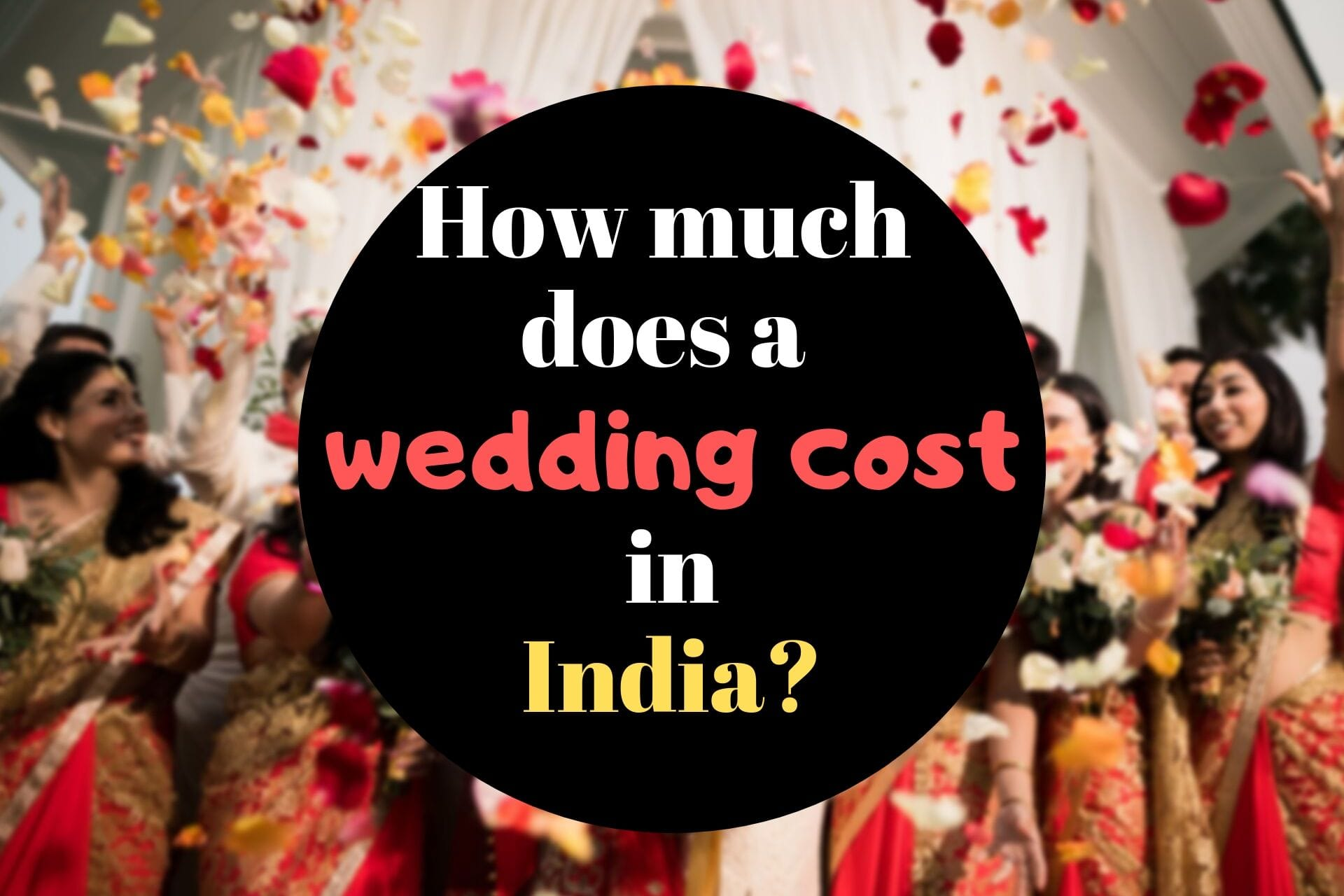 wedding planner cost in india