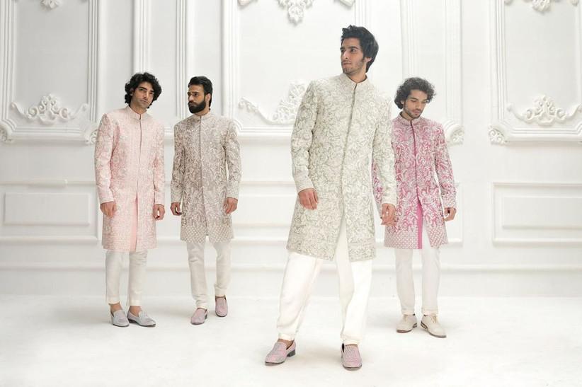 embroidered Jodhpuri Suits for Wedding