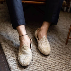 authentic hand embroidered shoes for groom shoes for sherwani